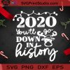 2020 Youll Go Down In History PNG, Christmas PNG, Noel PNG, Merry Christmas PNG, Reindeer PNG, Covid 19 PNG, Pandemic PNG Digital Download
