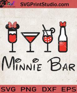 Minnie Bar SVG, Mickey Mouse SVG, Minnie Disney SVG, Disney Bar SVG