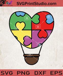 Heart Autism Awareness SVG, Autism Heart SVG, Autism Mom Svg