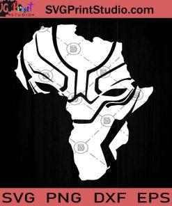 Africa Black Panther SVG, Black Panther SVG, Chadwick Boseman SVG, Cricut Digital Download, Instant Download