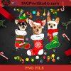 Chihuahua Christmas Lights PNG, Christmas PNG, Noel PNG, Merry Christmas PNG, Chihuahua PNG, Dog PNG, Snowflake PNG, Lights PNG, Santa Hat PNG Digital Download