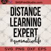Distance Learning Expert Quarantine Life SVG, Teacher Life Isolator SVG, Online School SVG, Teaching SVG, Quarantine 2020 SVG