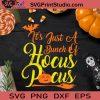 It's Just A Bunch Of Hocus Pocus SVG, Halloween SVG, Hocus Pocus SVG, Cricut Digital Download, Instant Download