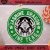 Jasmine Dragon Fine Teas SVG, Starbucks SVG, Cricut Digital Download, Instant Download