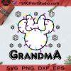 Minnie Christmas Grandma SVG, Christmas SVG, Noel SVG, Merry Christmas SVG, Mickey SVG, Disney SVG, Grandma SVG, Light SVG, Snowflake SVG Cricut Digital Download, Instant Download