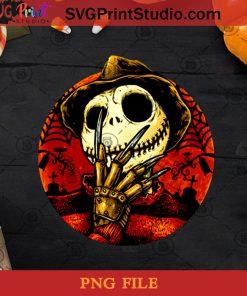 Nightmare Jack Skellington PNG, Halloween PNG, Jack Skellington PNG, Nightmare PNG, Horror Movie PNG Digital Download
