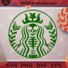 Starbucks Skeleton SVG, Halloween SVG, Cricut Digital Download, Instant Download