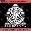 Taggart Transcontinental Railroad Co SVG, Funny SVG, Humor SVG, Railroad logo SVG, Funny Saying SVG