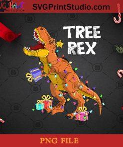 Tree Rex PNG, Noel PNG, Merry Christmas PNG, Christmas PNG, Rex Diosaur PNG, Diosaur PNG, Gift PNG, Light PNG Digital Download
