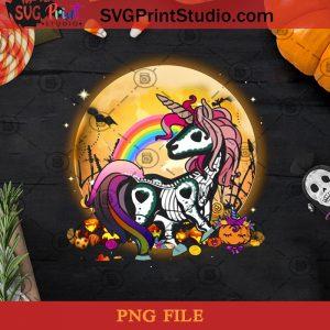 Unicorn Halloween PNG, Unicorn PNG, Halloween PNG, Rainbow PNG, Pumpkin PNG Digital Download