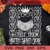 Vote And Tell Them Ruth Sent You SVG, Halloween SVG, Ruth Bader Ginsburg SVG, Vote SVG Cricut Digital Download, Instant Download