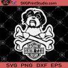 Bone Shih Tzu Crusher SVG, Shih Tzu SVG, Dog Paw SVG, Dog Lover