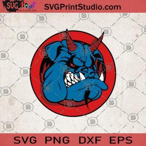 Bulldog Devil, Halloween SVG, Popular SVG, Halloween SVG, Halloween Decor SVG, Halloween Logo SVG, Bulldog Devil SVG