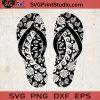 Flip Flops Svg, Mandala Summer svg, Flip Flop Mandala SVG, Summer SVG