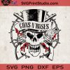 Guns N' Roses SVG, Guns N' Roses Skull SVG, Music Band SVG