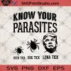 Know Your Parasites Deer Tick Dog Tick Luna Tick SVG, Deer Tick SVG, Dog Tick SVG, Luna Tick SVG