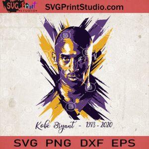 Kobe Bryant SVG, Black Mamba SVG, Kobe Bryant 1978 - 2020, NBA SVG