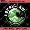 Lepriclaw Get Shamrocked SVG, Patrick's Day SVG, White Claw Beer SVG
