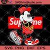 Mickey Supreme SVG, Disney SVG,Mickey Mouse SVG, Disney Pride SVG