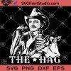 Merle Haggard SVG, Merle Haggard The Hag SVG, Singer SVG