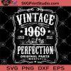 Vintage 1969 Aged To Perfection Original Parts SVG, 1969 SVG