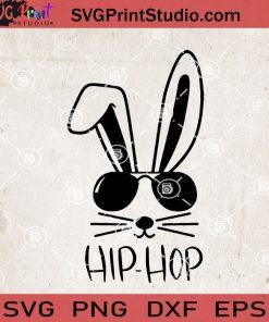 Hip Hop Rabbit SVG, Rabbit SVG, Bunny SVG, Cute SVG, Eggs SVG EPS DXF PNG Cricut File Instant Download