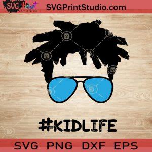 Afro Kidlife SVG, Kid SVG, Afro Hair SVG EPS DXF PNG Cricut File Instant Download