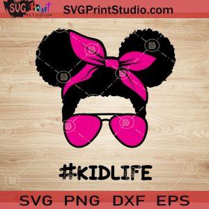 Afro Kidlife Girl SVG, Daughter SVG, Afro Hair SVG EPS DXF PNG Cricut File Instant Download