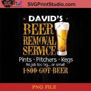 David Beer Removal Service Pints Pitchers Kegs PNG, Beer PNG, Pints PNG Instant Download