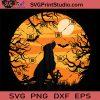 Lonely Dog Halloween Vintage Bat SVG, Bats SVG, Happy Halloween SVG EPS DXF PNG Cricut File Instant Download