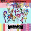 Rainbow Clipart Rainbow Paper Rainbow PNG Rainbow Digital Paper Download – Instant Download