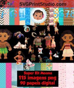 Moana Clipart Moana Paper Moana PNG Moana Digital Paper Download – Instant Download Disney Moana Clipart Moana Bundle Moana Party