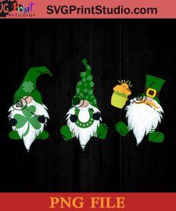 Three Gnomies Patrick PNG, St Patrick Day PNG, Irish Day PNG, Gnomies PNG, Patrick Day Instant Download