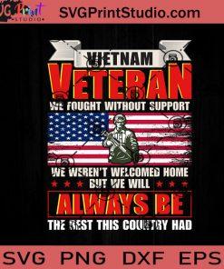 Vietnam Veteran SVG, Veteran SVG, American SVG EPS DXF PNG Cricut File Instant Download