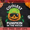 Coolest Pumpkin In The Patch Smiling SVG, The Pumpkin Patch SVG, Coolest Pumpkin SVG