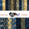 Halloween Paper Bundle Digital Paper Download – Instant Download