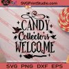 Candy Collectors Welcome Halloween SVG PNG EPS DXF Silhouette Cut Files