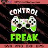 Control Freak Game Controller SVG PNG EPS DXF Silhouette Cut Files