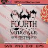 Fourth Sanderson Sister Halloween SVG PNG EPS DXF Silhouette Cut Files