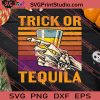 Trick Or Tequila Skeleton Funny SVG PNG EPS DXF Silhouette Cut Files