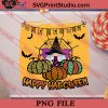 Gnome Happy Halloween PNG, Halloween Costume PNG Instant Download