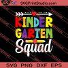 Kindergaren Squad SVG PNG EPS DXF Silhouette Cut Files