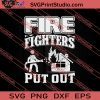 Fire Fighters Put Out SVG PNG EPS DXF Silhouette Cut Files