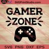 Gamer Zone SVG PNG EPS DXF Silhouette Cut Files
